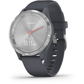 Garmin Vivomove 3S Montre connectée, granite blue/silver